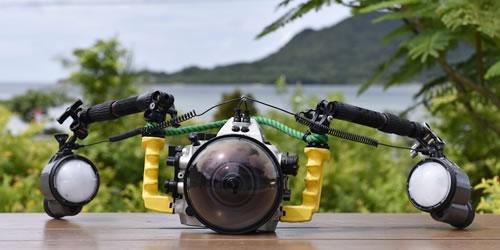 ダイビング水中カメラレンタル