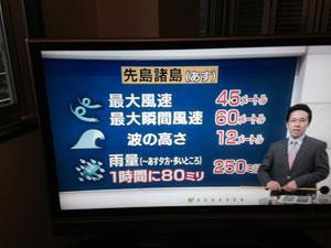 テレビのニュース