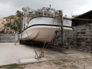 台風対策(船)