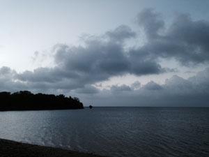 夕方の天気
