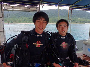 体験ダイビング