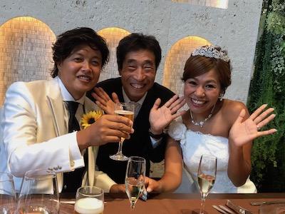 新婚夫婦と・・・